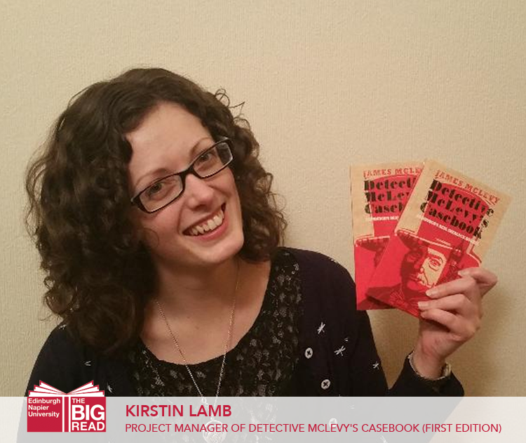 Alumni Views: Kirstin Lamb – Project Manager of Detective McLevy's Casebook (firstedition)