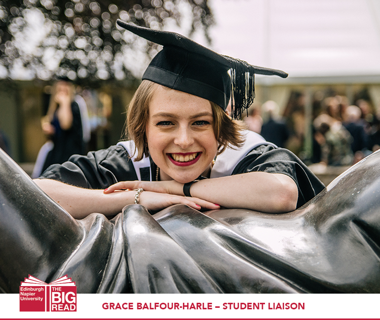 Meet our team: Grace Balfour-Harle – Student Liaison