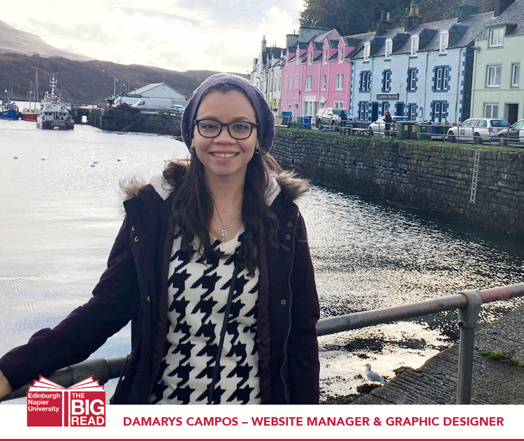 Meet our team: Damarys Campos – Website Manager & Graphic Designer