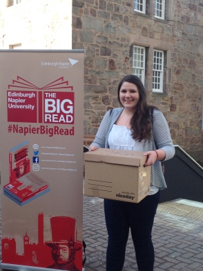 Happy while we work on #NapierBigRead