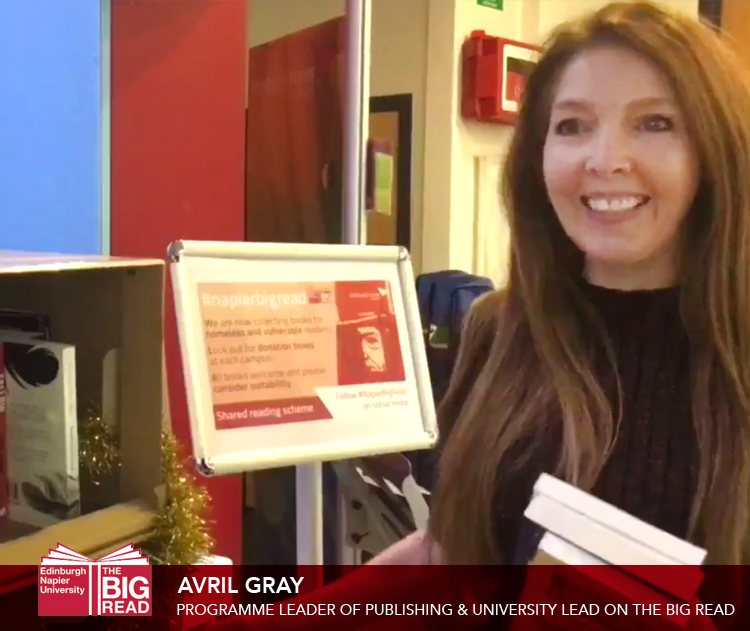 Staff Views: Avril Gray – Programme Leader of Publishing & University Lead on the BigRead
